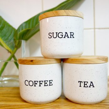 Coffee Tea Sugar label set