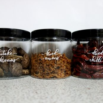 Pantry and home custom labels