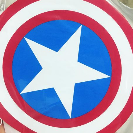 captain america shield iron on transfer